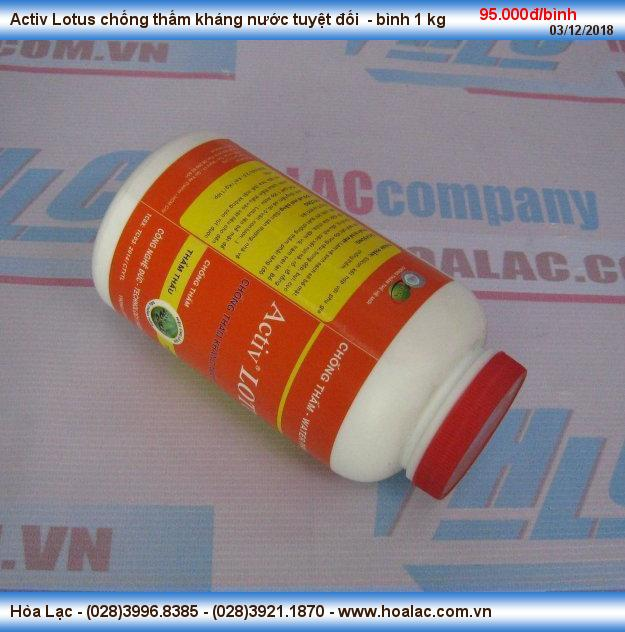 Dung dịch chống thấm Activ Lotus